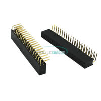 10PCS 2X20 40Pin Double Row 2.54mm Female Right Angle Header Socket Pin Strip