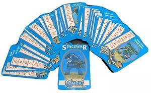 Rare Vintage Citadel Combat Cards - Spacewar - Warhammer Games Workshop