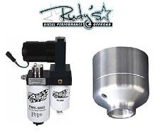FASS Fuel Lift Pump & Fuel Filter Delete 2001-2010 6.6L Duramax Titanium Series