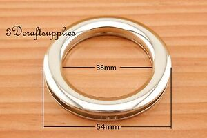 eyelets metal screw on eyelet grommet light gold Alloying round 4 sets 38 mm D82