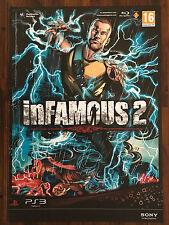 Infamous 2 PS3 ORIGINALE UFFICIALE videogioco PROMO POSTER A1 43 x 60cm #1