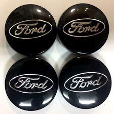 Centro De Rueda de Aleación de Ford 4x Negro Caps 6M21-1003-AA