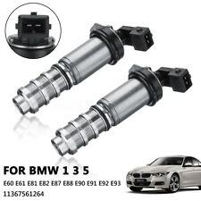 2pcs Vanos Camshaft Solenoid Valve For BMW 1 3 5 Series N43 E87 E90 11367561264