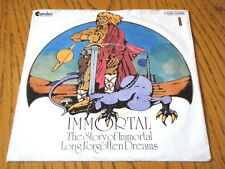 """IMMORTAL - THE STORY OF THE IMMORTAL  7"""" VINYL PS"""