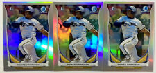 2014 1st Bowman Chrome Draft Refractor Lot Monte Harrison Rookie Card RC #CDP48