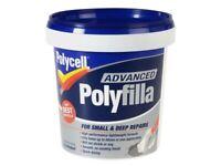 Polycell PLCAPF600 Polyfilla Advance Tutto in uno Vasca 600ml