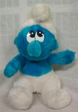 "VINTAGE Applause Smurfs BLUE SMURF CHARACTER 11"" Plush STUFFED ANIMAL Toy"
