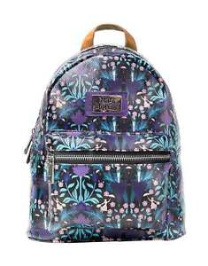 Mary Poppins Backpack Flowers Logo all over Print new Official Disney Womens One