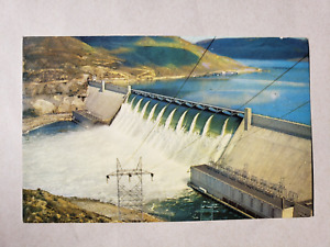 Vintage Postcard - 1960s Grand Coulee Dam # 426 - Security Lithograph