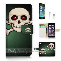 ( For iPhone 6 Plus / iPhone 6S Plus ) Case Cover P2728 Skull