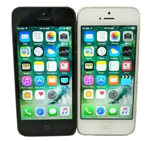 Apple iPhone 5 16GB 32GB 64GB Unlocked AT&T T-Mobile Black Silver A1428
