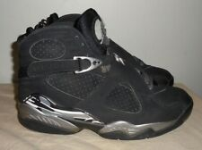 1436d31419e Mens Air Jordan VIII 8 Retro Black Chrome Edition 305381-003 Size 9 GUC