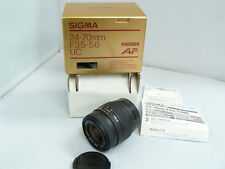 Sigma 24-70mm f/3.5-5.6 - Minolta and Sony Alpha Mount Camera Lens - for analog