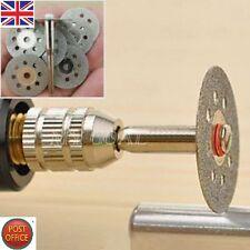 12X Rotary Tool Circular Saw Blades Cutting Wheel Discs Mandrel Dremel Cutoff