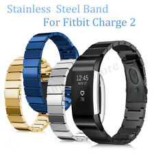 Stainless Steel Wristband Bracelet Watch Band Strap For Fitbit Charge 2 Tracker