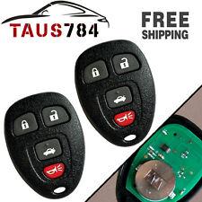 2X Fob Keyless Entry Remote Start Key Clicker Transmitter for 15252034