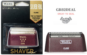 Wahl 7031-300 5-Star Series Shaver Shaper Replacement Foil Silver Foil NEW