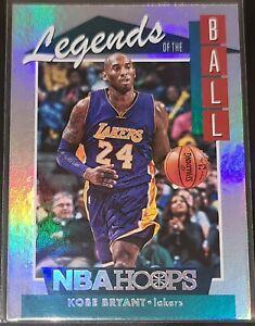 Kobe Bryant 2018-19 Panini Hoops LEGENDS OF THE BALL Insert Card (no.LEG-16)