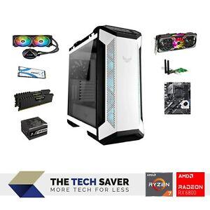 Performance Gaming PC, Ryzen 7, Radeon RX 6800, 32GB RAM, ASUS/Corsair, 1TB SSD