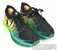 NIKE 2014 FLYKNIT MAX Turbo Green Blue Black Mens Sneakers RARE - 10
