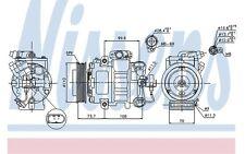 NISSENS Compresor, aire acondicionado SEAT LEON VOLKSWAGEN GOLF AUDI OPEL 89026