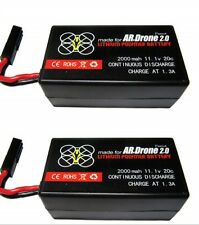 2 x 2000mAh Battery For Parrot AR Drone 2.0