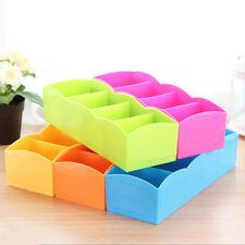 5 Compenent Drawer Closet Underwear Bra Sock Ties Organizer Storage Box Useful*