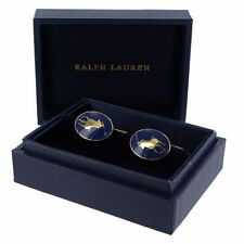 Original Gold-plated Ralph Lauren Polo Signature Pony Cuff Links £259