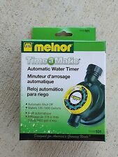 NEW MELNOR 101 Automatic Water Timer With Automatic Shut off