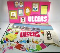 ULCERS --1973 FAMILY BOARD GAME BY WADDINGTONS 1973 VGC Complete