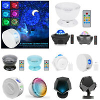 LED Galaxy Starry Night Light Laser Projector Ocean Star Sky Party Home Lamp AU