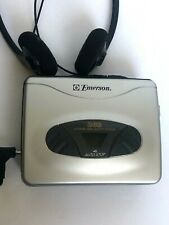 Emerson Dbb Dynamic Boost System Auto Stop Cassette Player Model # Ew780 Dc 3V