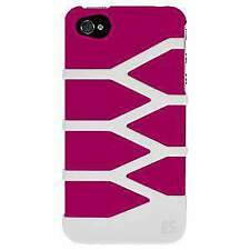 NEW PINK WHITE DUO PROTECTOR HARD SHELL CASE COVER FOR iPHONE 4S 4 4G CDMA