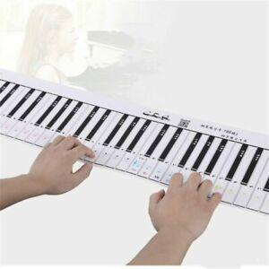 1 Pc Piano Keyboard Chart PE Piano Practice Keys Chart Useful 100% Brand New
