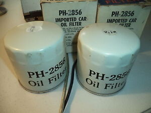PH2817 OIL FILTER 2 EA ACURA HONDA PH3531 15400-689-004