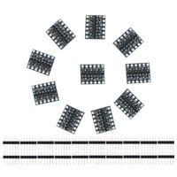 10pcs 4 Channel IIC I2C Logic Level Converter Bi-Directional Module 5V to 3.3V