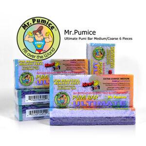 6 Bar Mr. Pumice Ultimate Pumi Bar Medium/Coarse