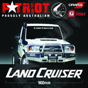 LAND CRUISER LandCruiser Windscreen Decal Sticker 70 79 SERIES 4X4 Large 900MM