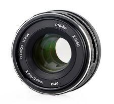 Meike 50mm F2.0 Objektiv multicoated für Sony E-Mount