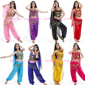 2020 Festival Belly Dance Costume Set Professional Bollywood Carnival Outfit