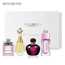 MayCreate Set Perfume Women Long Lasting Fragrance Lady Spray Flower Parfum Gift