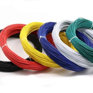 18AWG 20AWG 22AWG 24AWG 26AWG Stranded UL1007 300V PVC Electric Wire Cable ROHS