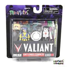 Valiant Minimates TRU Toys R Us X-O Manowar & Bloodshot