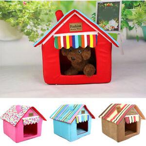 Fashion Washable Pet Bed Cushion Dog Cat Warm Mat Soft Pad Nest House