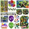 Teenage Mutant Ninja Turtles Party Tableware Decorations Balloons Favours