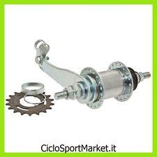 Mozzo contropedale 36 Fori in Acciaio per bicicletta - Compreso Pignone 18 Denti