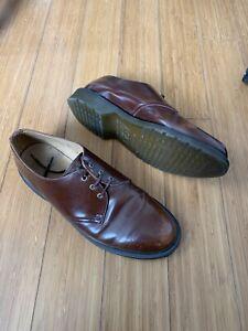 Dr Martens Brown Leather Men's Shoes Size UK 9