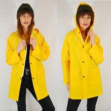 Fishermans Yellow Mac Raincoat Jacket Coat - Festival/Outdoors 8 10 12 14 16 18