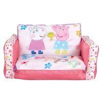 Peppa pig Flip Out Mini Canapé Gonflable Enfants Filles Neuf 100% Officiel