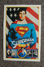 Superman The Movie Lobby Card Movie Poster Christopher Reeves